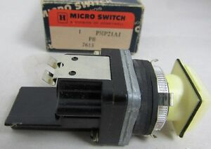 Honeywell Micro Switch Pmp21a1