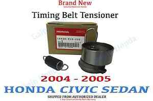 2004 2005 Genuine Honda Civic Sedan Dx Ex Hx Lx Sohc Timing Belt Tensioner Set