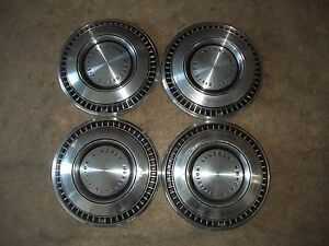 71 72 Lincoln Mercury Division Hubcap Rim Wheel Cover Hub Cap 15 Oem Used 696 4