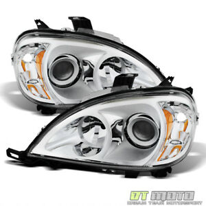 1998 2005 Mercedes benz W163 Ml320 Ml430 Halogen Headlights Headlamps Left right