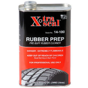 Rubber Buffer Solution Tire Patch Repair Pre Buff Buffing Cleaner 32oz