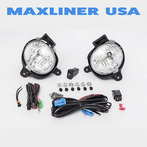 Fog Lights Lamps Kit Oem Replacement For Hilux Vigo 2011 2014