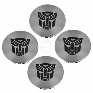 Oem Transformers Autobot Alloy Wheel Center Cap Kit Set Of 4 For Chevy Camaro Gm