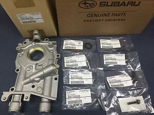 Genuine Oem Subaru 10mm Oil Pump W Seal O Ring Bolts Wrx Sti Legacy Forester