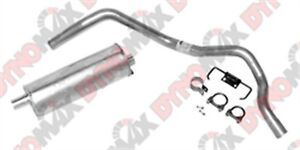 Dynomax 17418 Super Turbo Cat Back System Exhaust System Kit