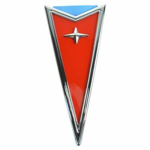 Oem 19207392 Pontiac Arrowhead Bumper Emblem For Aztec Grand Am Prix Sunfire New