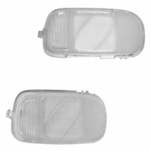Mopar Overhead Console Mounted Light Lens Cover Lh Lf Rh Rf Pair Kit For Dodge