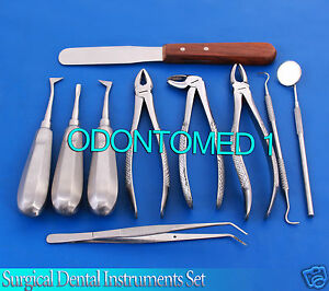 Surgical Dental Instruments Kit 10 pcs