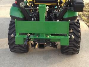Transformer 3 Point Trailer Hitch For John Deere Imatch W suitcase Weight Rack