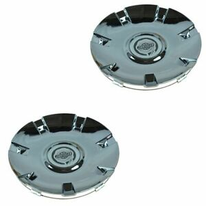 Oem Chrome Wheel Hub Center Cap Pair Lh Rh Front Or Rear For Chrysler Pacifica