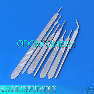 7 O r Grade Assorted Scalpel Knife Handles Surgical Veterinary Instruments