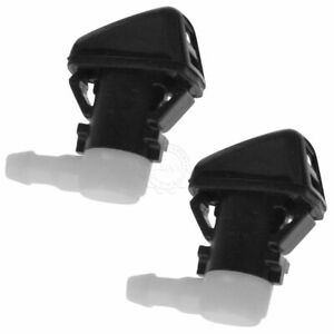 Oem Windshield Washer Sprayer Nozzle Driver Passenger Side Kit Pair For Jeep