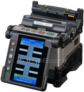 Fujikura 80s Fiber Optic Fusion Splicer Kit For Sm Mm Dsf Nzdsf Fibers Pon fttx