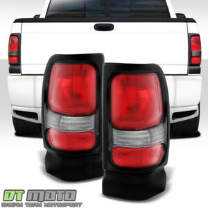 1994 2001 Dodge Ram 1500 Pickup Replacement Tail Lights Lamps 94 01 Left Right