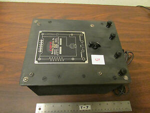 C Cenco Central Scientific No 80250 Resistance Capacitance Inductance Box
