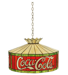 Coca Cola Stain Glass Light Coke Hanging Ceiling Lamp Lighting 74083