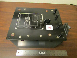 E Cenco Central Scientific No 80250 Resistance Capacitance Inductance Box