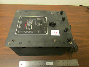 I Cenco Central Scientific No 80250 Resistance Capacitance Inductance Box