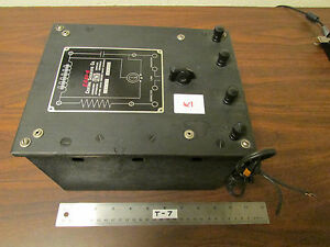 K Cenco Central Scientific No 80250 Resistance Capacitance Inductance Box