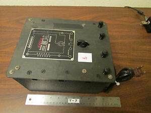 L Cenco Central Scientific No 80250 Resistance Capacitance Inductance Box