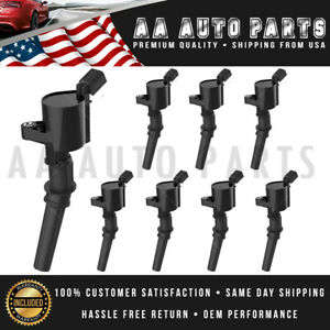 Ignition Coils 8 Pack For Ford 4 6l 5 4l F150 F250 F550 Lincoln V8 Dg508 Fd503