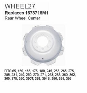 Wheel27 Massey Ferguson Rear Wheel Center 65 150 165 175 180 245 255 Call4frt