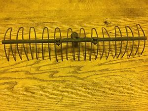 Early Cast Iron And Steel Garden Rake