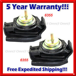 K193 Fit 1989 1998 Nissan 240sx 2 4l Front Left Right Engine Motor Mount Set