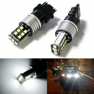 White High Power 3156 3157 Led Backup Reverse Light Bulbs Powerd By 2835 Smd Led