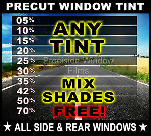 Precut All Sides Rears Window Film Any Tint Shade For Toyota Car Glass