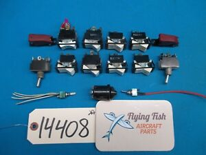 Lot Of Switches Toggle Switch Ms35059 23 On Off Switch Guards Ms35059 23 14408