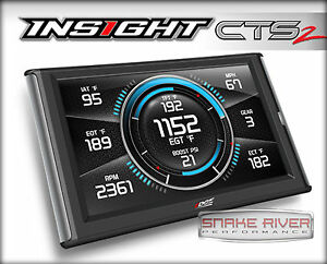 Edge Cts 2 Insight Monitor Gauges For 1996 And Up Chevy Silverado 1500 2500 3500