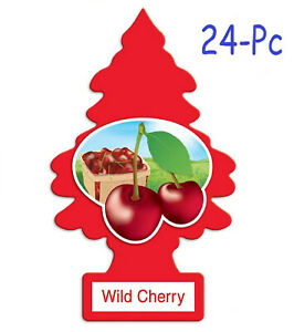 Little Trees Car Air Freshener Provides Lasting Scent For Auto Or Home Cherry