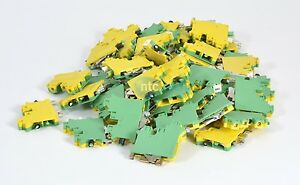 Phoenix Contact Ground Modular Terminal Block Uk 10 twin pe 3001433 Lot Of 51