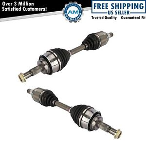 Front Cv Axle Shaft Pair Set Of 2 For 4runner Fj Cruiser Gc470 New
