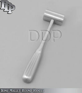 Bone Mallet Round Handle Steel Orthopedic Surgical Instruments