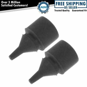 Oem 15283098 Fuel Tank Filler Door Bumper Pair Set Of 2 For Chevy Gmc Cadillac