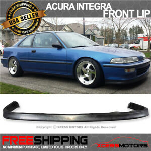 Fits 92 93 Acura Integra Jdp Style Front Bumper Lip Pu Poly Urethane