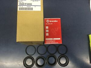 New Genuine Oem Subaru Brembo Rear Caliper Reseal Kit 2008 2017 Impreza Wrx Sti