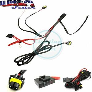 880 H8 H11 Relay Wiring Harness Kit For Fog Light Hid Conversion Led Drl