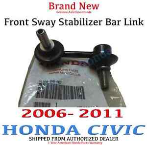 Honda Civic Front Right Side Sway Stabilizer Bar Link 2006 2011 51320 Sna A02
