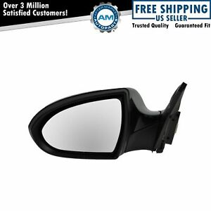 Mirror Power Smooth Black Cover Driver Side Left Lh For Kia Sportage