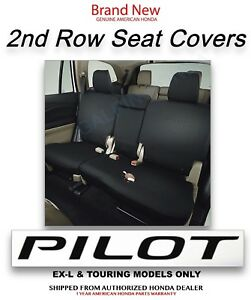 2016 2019 Honda Pilot Exl touring 2nd Row Seat Cover 08p32 tg7 110b