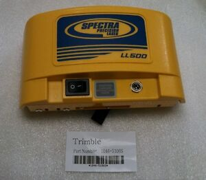 Spectra Precision Laser Ll500 L500c L200 Battery Pack Trimble 1046 5106s