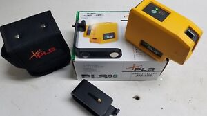 Pls 3 Green Beam Laser Level With Mount And Belt Pouch Pls 60595n