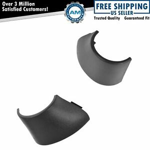 Oem Trailer Tow Mirror Hinge Cover Pair Set Of 2 Lh Rh Sides For Chevy Gmc New