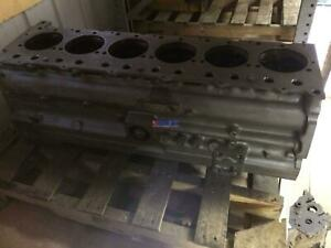 Deutz Dz F6l513 Engine Block Used D3018814 6 Cyl Diesel