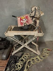 Cresco Wet Tile Saw 21 X 40 In