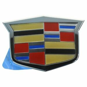 Oem 15263150 Crest Grille Emblem For Cadillac Cts Cts V Sts New