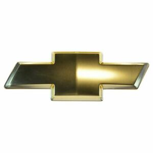 Oem 10357171 Bowtie Emblem Front Grille Gold For Chevy Colorado Trailblazer